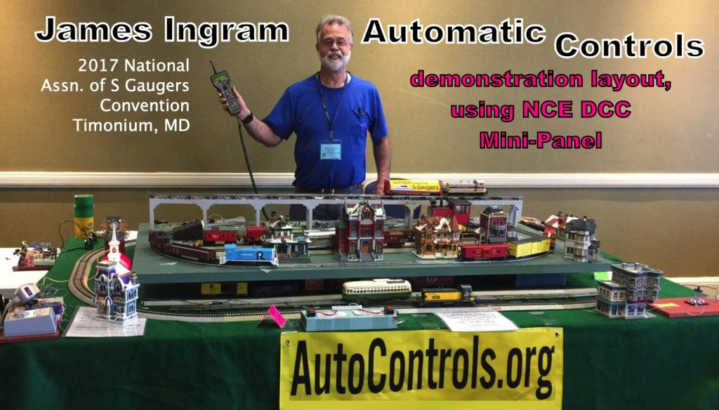 S-gaugeautomatic controls demonstration layout